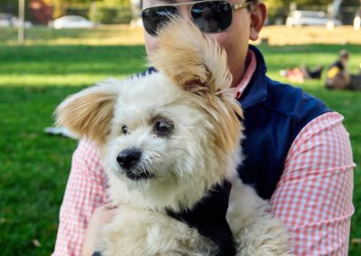 Kevin and Buddy at the Park-small